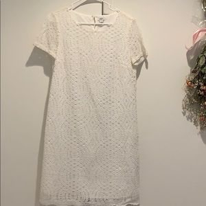 J.Crew White Dress Women